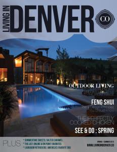 Pelican Publications Releases Living in Denver Spring/Summer 2013